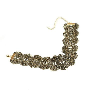 Dame Coliere Choker Bijuterii Bijuterii Dantelă Personalizat Modă Euramerican stil minimalist European Bijuterii Pentru Zilnic Casual