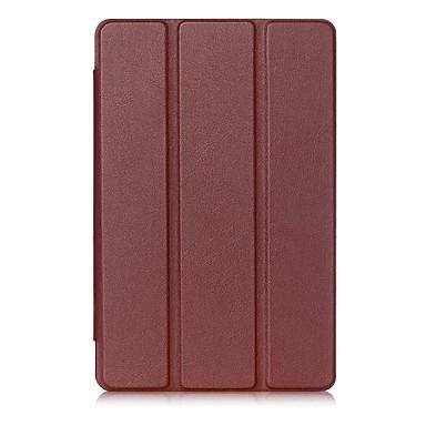 PU-nahka Yhtenäinen väri tabletti Kotelot LG 8