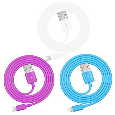 USB 3.0 Iluminação Adaptador de cabo USB Dados & Sincronização Cabo Tipo Corda para Carregador Cabo para Carregador Cabo Tipo Corda Normal