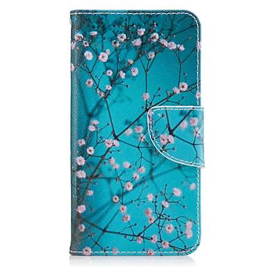 غطاء من أجل Samsung Galaxy J5 (2016) J3 (2016) حامل البطاقات محفظة مع حامل قلب غطاء كامل للجسم زهور قاسي جلد PU إلى J5 (2016) J3 Prime J3