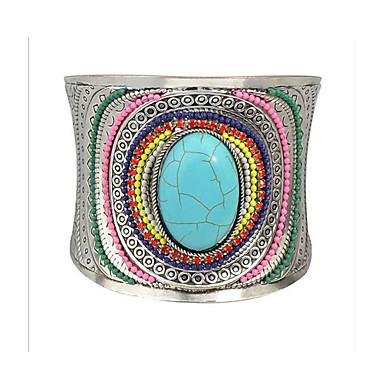 Bransoletki cuff Modny biżuteria kostiumowa Kamień szlachetny Stop Biżuteria Biżuteria Na Impreza Specjalne okazje