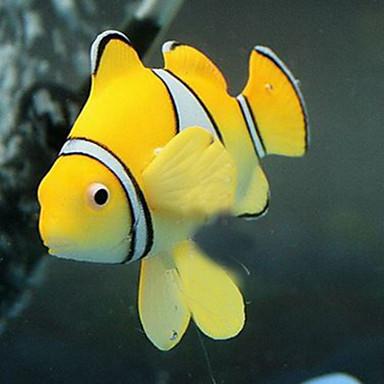 Διακόσμηση Ενυδρείου Τεχνητό ψάρι Μη τοξικό και χωρίς γεύση Σιλικόνη