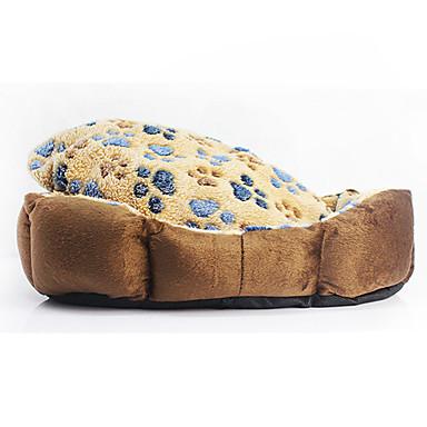γάτα σκύλου κρεβάτια κατοικίδιο ζώο& τα αποτυπώματα μαξιλαριών / το πόδι μαλακά