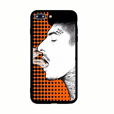 Maska Pentru Apple Model Carcasă Spate Punk Greu Acrilic pentru iPhone 7 Plus iPhone 7 iPhone 6s Plus iPhone 6 Plus iPhone 6s iPhone 6