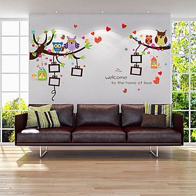 Animals Florals Botanical Wall Stickers Plane Wall Stickers 3D Wall Stickers  Decorative Wall Stickers Photo Stickers