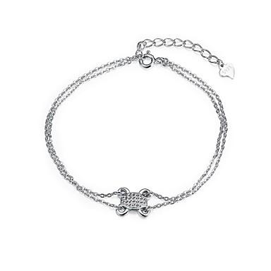 Γυναικεία Βραχιόλια με Αλυσίδα & Κούμπωμα Κοσμήματα Φύση Φιλία Μοντέρνα Πεπαλαιωμένο Βοημία Style Πανκ Στυλ Χιπ-Χοπ Rock ΓκόθικΑσήμι
