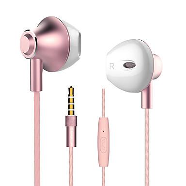 langsdom Langsdom M420 EARBUD سلكي Headphones ديناميكي Aluminum Alloy الهاتف المحمول سماعة مع ميكريفون سماعة