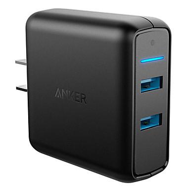 Taşınabilir şarj Telefon USB Şarj Cihazı US Priz Hızlı Şarj Çoklu Bağlantı Noktası 2 USB Bağlantı Noktası 3A 2A 1.5A AC 100V-240V