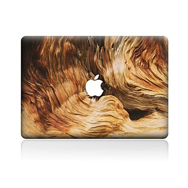 1 τμχ Προστασία από Γρατζουνιές Νερά ξύλου Πλαστικές διάφανες Αυτοκόλλητο Μοτίβο ΓιαMacBook Pro 15'' with Retina MacBook Pro 15 ''