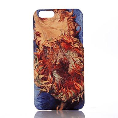 Için Ultra İnce Temalı Pouzdro Arka Kılıf Pouzdro Çiçek Sert PC için Apple iPhone 7 Plus iPhone 7 iPhone 6s Plus/6 Plus iPhone 6s/6