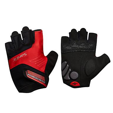 SANTIC Γάντια για Δραστηριότητες/ Αθλήματα Γάντια ποδηλασίας Αναπνέει Ανθεκτικό στη φθορά Αντιολισθητική Προστατευτικό Wicking