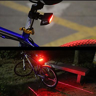 Iluminat Bicicletă Spate LED Ciclism Smart Telecomandă Laser Ușor de Purtat Lumeni Roșu Ciclism
