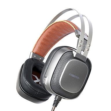 XIBERIA K10 Πάνω από το αυτί Κεφαλόδεσμος Ενσύρματη Ακουστικά Κεφαλής Δυναμικός Aluminum Alloy Ηλεκτρονικό Παιχνίδι Ακουστικά Απομόνωση