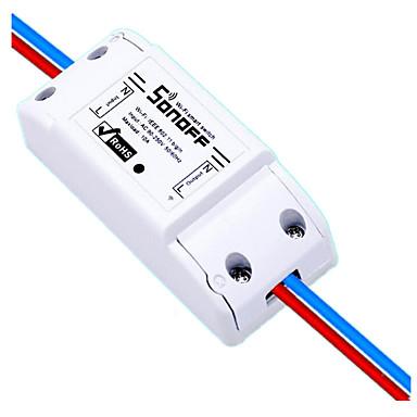 10A / 2200W remotewifi الهاتف المحمول للتحكم عن بعد لاسلكية التبديل الموقت