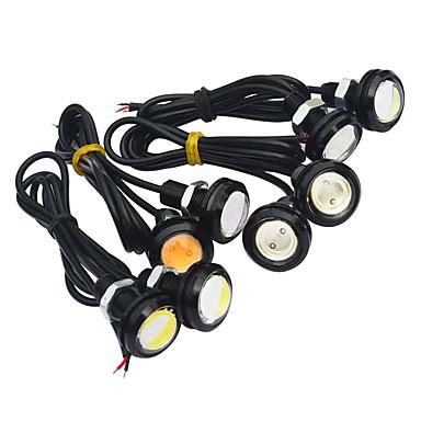 JIAWEN 2pcs Mașină Becuri 1.5W COB LED Lumini exterioare / coada de lumină / Bec de Zi