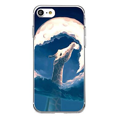 Για Εξαιρετικά λεπτή Με σχέδια tok Πίσω Κάλυμμα tok Ζώο Μαλακή TPU για AppleiPhone 7 Plus iPhone 7 iPhone 6s Plus/6 Plus iPhone 6s/6