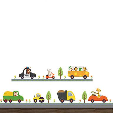 حيوانات أزياء المواصلات ملصقات الحائط لواصق حائط الطائرة لواصق حائط مزخرفة, الفينيل تصميم ديكور المنزل جدار مائي جدار زجاج / الحمام