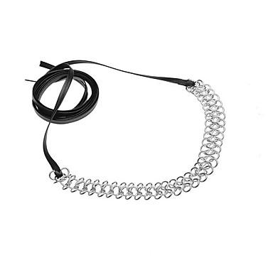 Zestawy biżuterii Naszyjniki choker Oświadczenie Naszyjniki Biżuteria Biżuteria Skórzany Stop Spersonalizowane Modny euroamerykańskiej