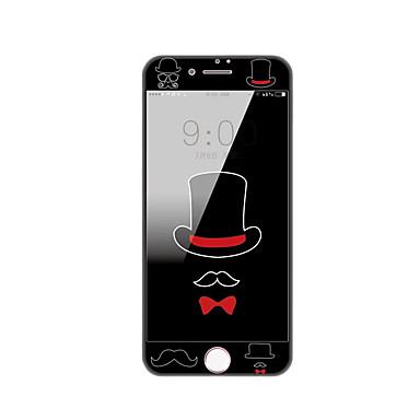 για apple iphone 7 συν προστάτης μετριάζεται γυάλινη οθόνη 5,5 ιντσών με μαλακό άκρο πλήρη κάλυψη οθόνης μοτίβο μπροστινό προστατευτικό