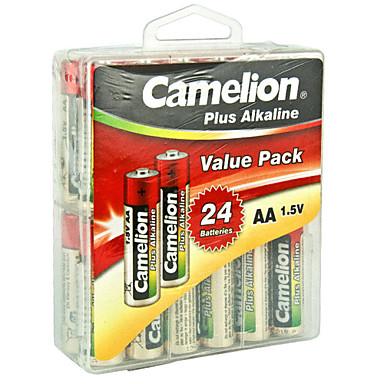 camelion LR6-pbh24 بطارية AA قلوية 1.5V 24 حزمة