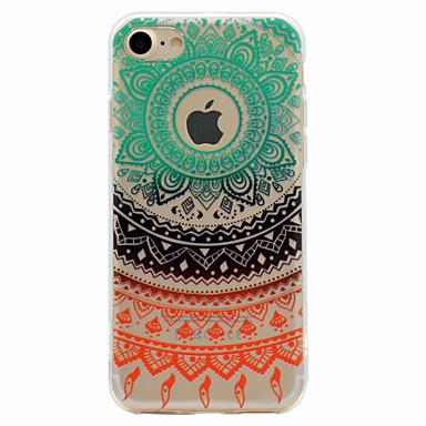 tok Για iPhone 7 Plus iPhone 7 Apple Με σχέδια Πίσω Κάλυμμα Lace Εκτύπωση Μαλακή TPU για iPhone 7 Plus iPhone 7
