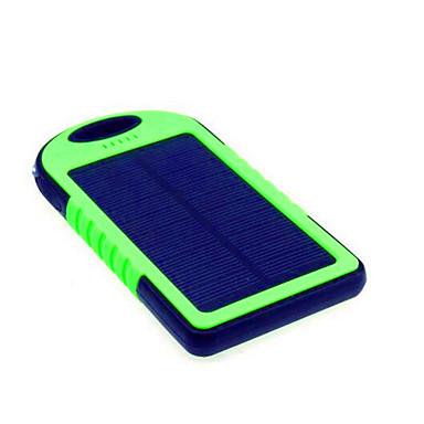 5000mahpower τράπεζα εξωτερική μπαταρία ηλιακή φόρτιση / φακός / σούπερ λεπτό 5000 1000 ηλιακή φόρτιση / φακός / σούπερ λεπτό