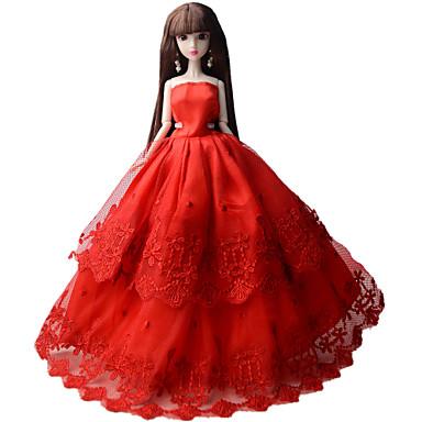 Juhla/ilta Mekot varten Barbie-nukke Mekot varten Tytön Doll Toy
