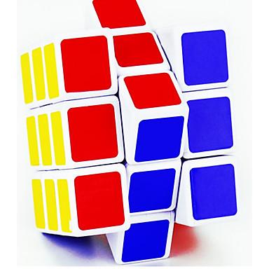 مكعب روبيك Lingyun 3*3*3 السلس مكعب سرعة مكعبات سحرية لغز مكعب غير لامع مرآة مربع مهرجان عيد الأطفال هدية