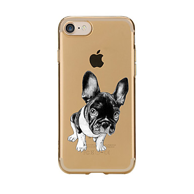 Case For iPhone 7 Plus iPhone 7 iPhone 6s Plus iPhone 6 Plus iPhone 6s iPhone 6 iPhone 5 iPhone 5C Apple Transparent Pattern Back Cover