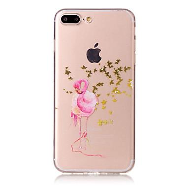 Için Temalı Pouzdro Arka Kılıf Pouzdro Hayvan Yumuşak TPU için AppleiPhone 7 Plus iPhone 7 iPhone 6s Plus/6 Plus iPhone 6s/6 iPhone