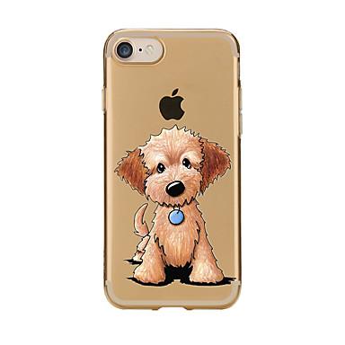 iPhone Plus Fantasia iPhone 05608553 per retro disegno Plus Custodia 7 Apple Transparente 7 iPhone Per cagnolino Con Morbido 7 Per 7 iPhone TPU wqnFgCxXA