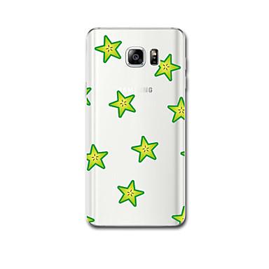 Varten Ultraohut Kuvio Etui Takakuori Etui Geometrinen printti Pehmeä TPU varten Samsung Note 5 Note 4