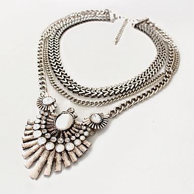 Damskie Naszyjniki choker Naszyjniki z wisiorkami Biżuteria Biżuteria Kamień szlachetny Stopluksusowa biżuteria Europejski Modny Osobiste