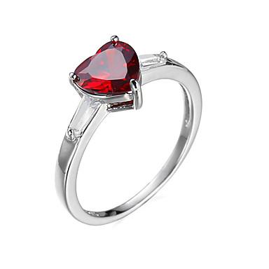 للمرأة خاتم موضة أوروبي زركون مكعبات زركونيا معدني مجوهرات زفاف خطوبة يوميا