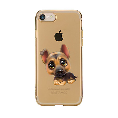Maska Pentru Apple iPhone 7 Plus iPhone 7 Transparent Model Capac Spate Câțel Moale TPU pentru iPhone 7 Plus iPhone 7 iPhone 6s Plus