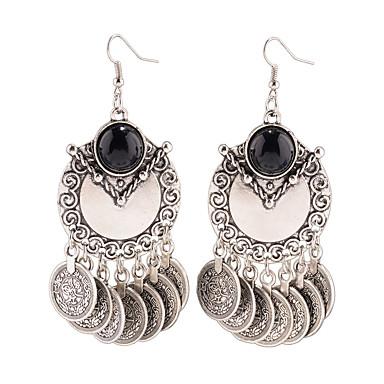 Γυναικεία θαυμαστής σκουλαρίκια Κοσμήματα Κρεμαστό Πανκ Στυλ Εξατομικευόμενο Euramerican Κοσμήματα με στυλ Ευρωπαϊκό Κράμα Κοσμήματα