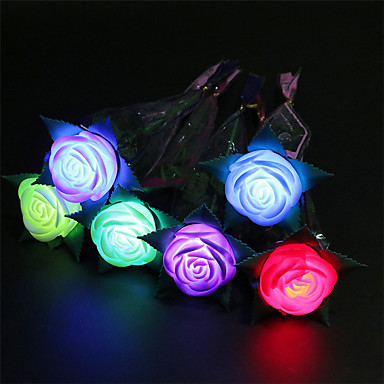 3pcs φωτεινή πηγή τριαντάφυλλα παιχνίδια μήλο λουλούδι παιχνίδια του Αγίου Βαλεντίνου προτείνει προμήθειες παιχνίδια κόμμα δώρα διακοπών