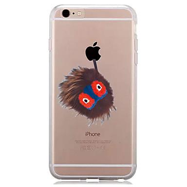 غطاء من أجل Apple iPhone 7 Plus iPhone 7 شفاف نموذج غطاء خلفي اللعب بشعار آبل ناعم TPU إلى iPhone 7 Plus iPhone 7 iPhone 6s Plus ايفون 6s
