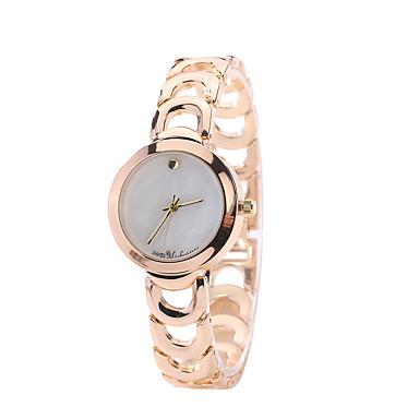 Damskie Zegarek na nadgarstek Kwarcowy Stop Pasmo Na co dzień Złoty Gold