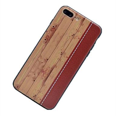 Kılıf Na OPPO OPPO R9 Plus OPPO R9 Ultra cienkie Wzór Czarne etui Tekstura drewna Miękkie TPU na OPPO R9 Plus OPPO R9 OPPO