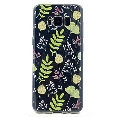 tok Για Samsung Galaxy S8 Plus S8 Διαφανής Με σχέδια Πίσω Κάλυμμα Λουλούδι Μαλακή TPU για S8 S8 Plus