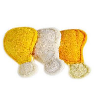 Köpek Oyuncağı Evcil Hayvan Oyuncakları Çiğneme Oyuncağı Oyuncak Diş Temizleme Loofahs & Sponges Dokuma Turuncu