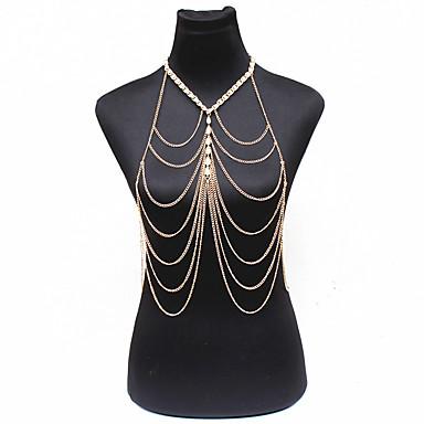 Γυναικεία Κοσμήματα Σώματος Body Αλυσίδα / κοιλιά Αλυσίδα Φύση Μοντέρνα Βοημία Style Μαργαριτάρι Κράμα Κοσμήματα ΓιαΕιδική Περίσταση