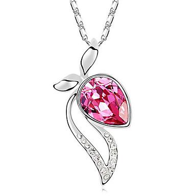 Damskie Naszyjniki z wisiorkami Kryształ Spersonalizowane Modny Słodkie Style euroamerykańskiej Biżuteria Na Ślub Impreza Urodziny