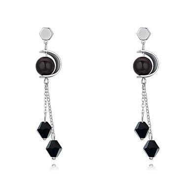 Damskie Kolczyki wiszące Modny Kryształ Pozłacane Geometric Shape Biżuteria Codzienny Casual