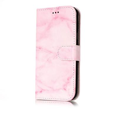tok Για Samsung Galaxy J7 (2016) J5 (2016) Πορτοφόλι Θήκη καρτών με βάση στήριξης Ανοιγόμενη Με σχέδια Πλήρης κάλυψη Μάρμαρο Σκληρή PU