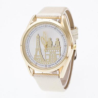 Bărbați Ceas Sport Ceas Elegant Ceas La Modă Ceas de Mână Chineză Quartz Piele Autentică Bandă Charm Casual Creative Multicolor