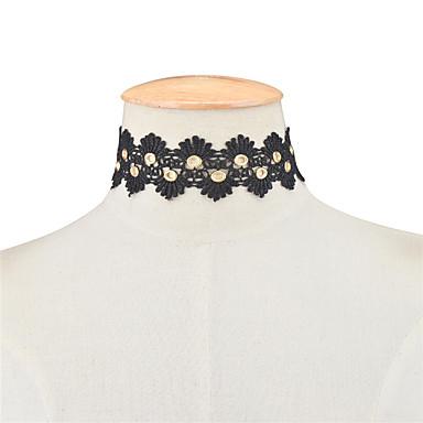 Damskie Pojedynczy Strand Unikalny Artystyczny Modny euroamerykańskiej minimalistyczny styl Europejski Naszyjniki choker Biżuteria