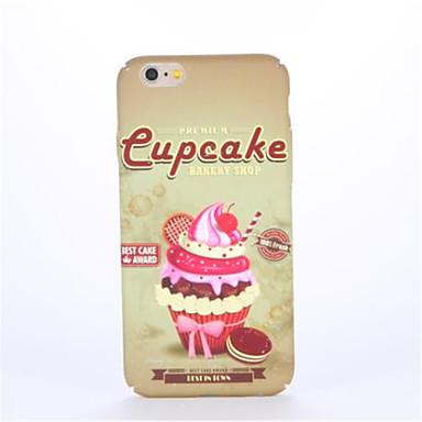Varten Koristeltu Kuvio Etui Takakuori Etui Ruoka Kova PC varten AppleiPhone 7 Plus iPhone 7 iPhone 6s Plus iPhone 6 Plus iPhone 6s