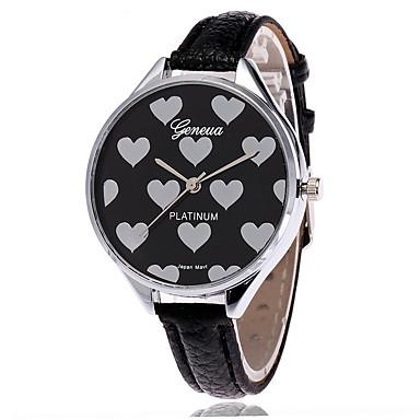 pentru Doamne Ceas La Modă Ceas de Mână Quartz / PU Bandă Cool Casual Negru Alb Verde Alb Negru Verde